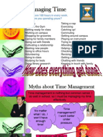 Ch. 4 Powerpoint Time Management