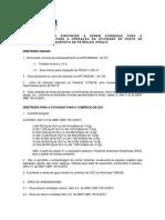 ROTEIRO COM AS DIRETRIZES A SEREM ATENDIDAS PARA O licenciamento de posto de gás liquefeito