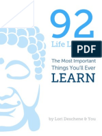 92 Life Lessons