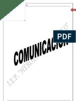 COMUNICACIÓ 1ro Sec. IV BIM.