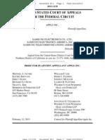 Apple Brief - Appeal of Denial of Permanent Injunction