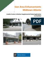 Transit Station Area Enhancements Midtown Atlanta