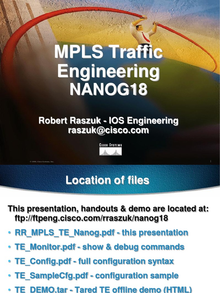 Traffic Engineering With Mpls Pdf