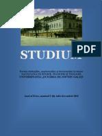 revista-STUDIUM, nr. 2 (4), 2012