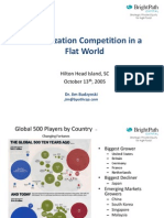 Global Competition in a Flat World 10.05