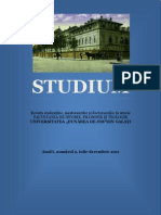 Revista-Studium Nr. 2 (2011)