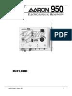 Aaron Bovie 950 User Manual