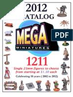 Mega Miniatures Catalog 2012