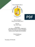 Proyecto Fase 1 BDD