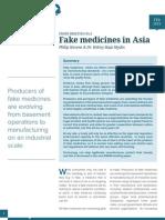 Fake medicines in Asia