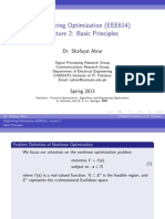 Optimization Theory Lecture 2