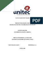 DIAFRAGMAS de PISO; Flexibilidad en El Plano (31!07!09)