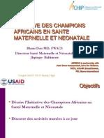 Initiative Des Champions en Sante Maternelle