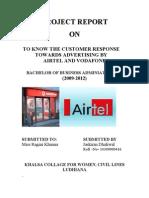 Vodafone vs. Airtel