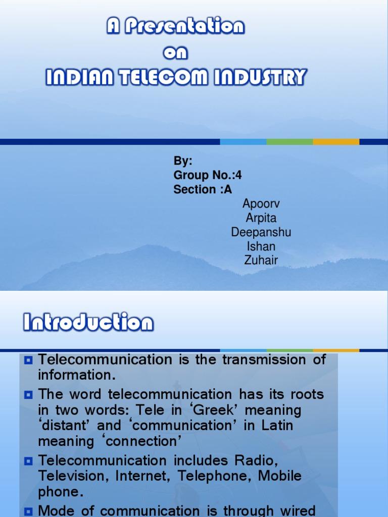 Telecom Industry | Telecommunication | Telecommunications