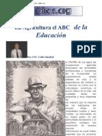 agricultura abc da educação