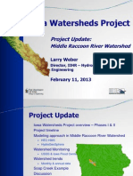 Iowa Watersheds Project   Middle Raccoon 2.11.13