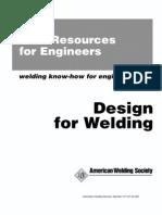 Design for Welding