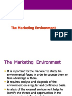 322 Marketing Environment