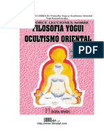 Catorce Lecciones Filosofia Yoga Y Ocultismo Oriental
