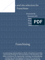 frenchising & global retailing