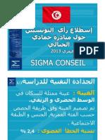 Sondage SIGMA Sur l'Opinion Des Tunisiens Sur l'Initiative de Hamadi Jebali