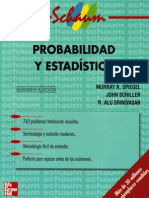 Probabilidad y Estadistica Schaum Murray Spiegel 2 Ed