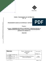 Procedimiento Montaje de Porticos y Estructuras