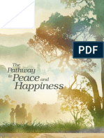 The pathway to peace and happiness, the way