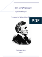 Richard Wagner Hero-Dom and Christendom