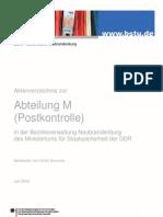 Aktenverzeichnis Abt m