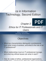 #2 Ethics for IT Professionals and IT Users