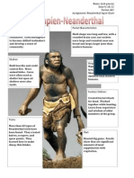 master neanderthal input
