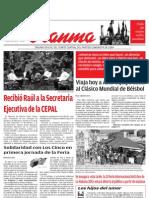 Edición del Granma del 14 de febero de 2013