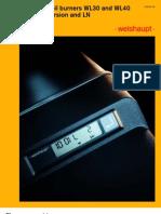 Weishaupt WL30 - WL40