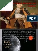 Pierre Simon Marqués de Laplace diapositivas de joe