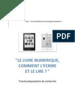 TPR Ph-Bayle-M1 CPEAM 2012-Le livre numérique-VDEF