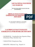 Drogas Mas Usados en Emergencias