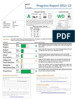 progress report 2012 hs k576
