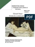 Édouard Manet s