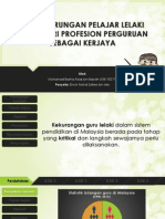 Projek Sarjana - Pelajar Lelaki