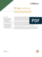 Videum 1000 AV Plus Datasheet
