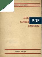 Orts Alberdi, Francisco - Delitos de Comision Por Omision - 1979