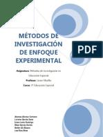 Método de investigación de enfoque experimental