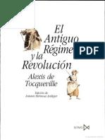 El Antiguo Régimen y la Revolución