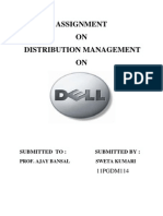 Distribution Mgt Assignment