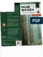 MUIR WOODS MAP, GUIDE part of
