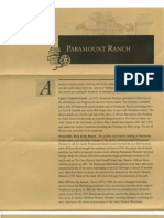 PARAMOUNT RANCH MAP & GUIDE (part of)