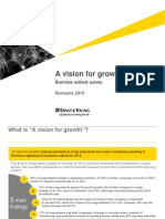 A Vision for Growth