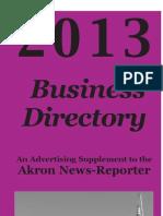 Akron Colorado Business Directory 2013